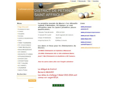 District Petanque St AFFRIQUE